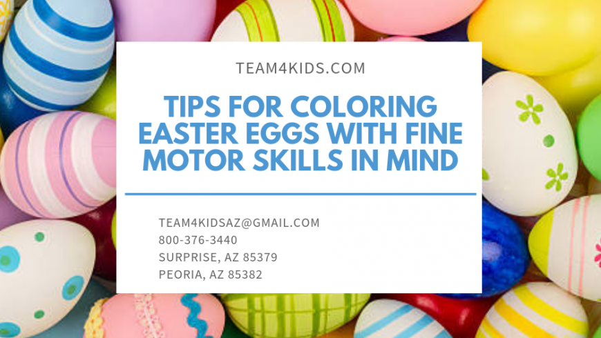 Tips for Coloring Easter Eggs with Fine Motor Skills in Mind