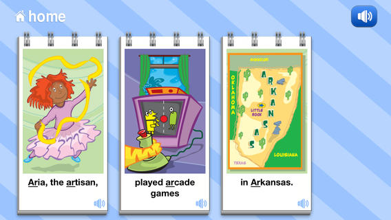 Articulation Flip Books Apps