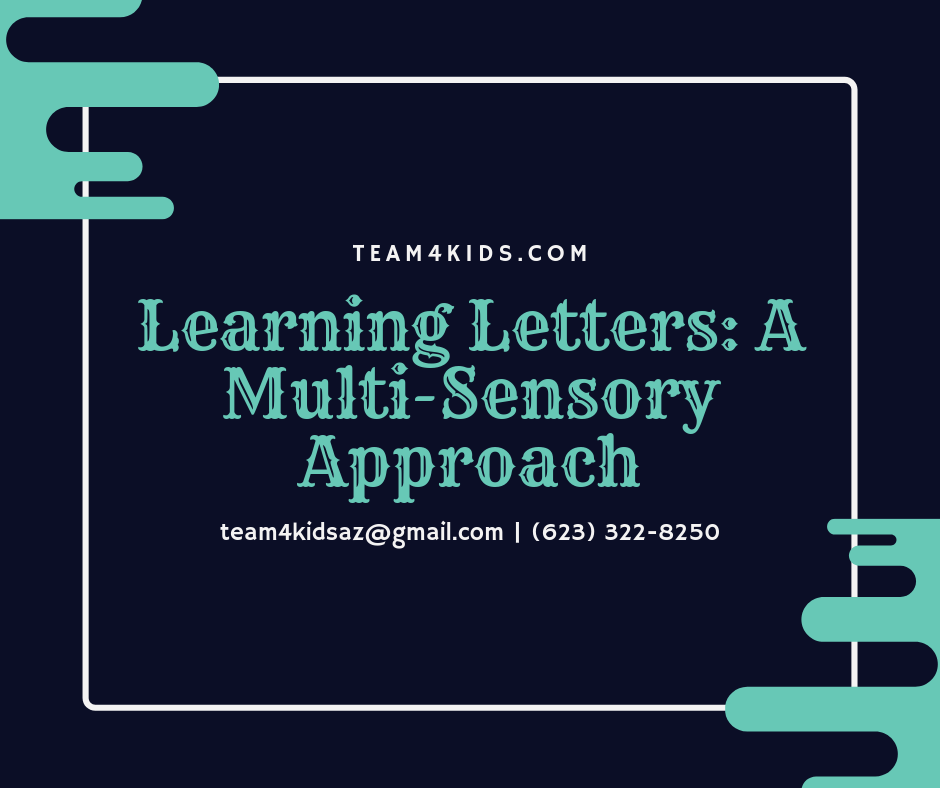 Learning Letters: A Multi-Sensory Approach