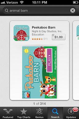 App of the Week - Peekaboo Barn