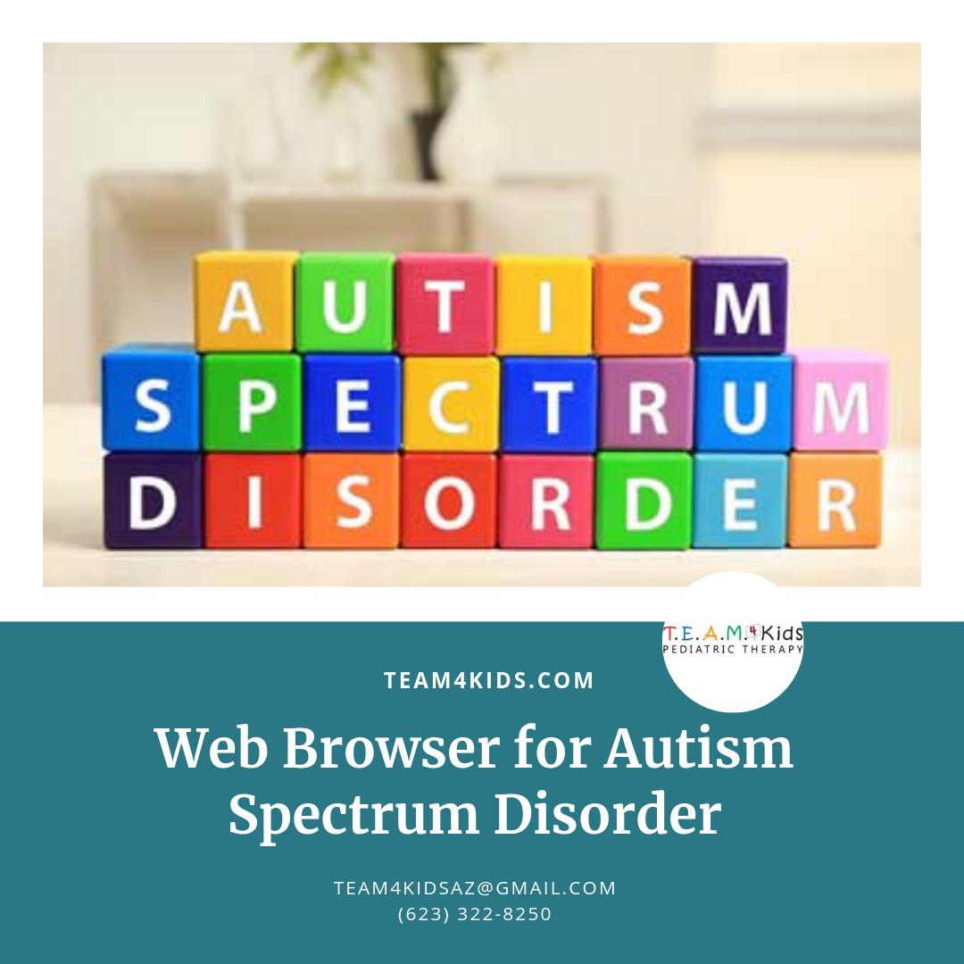 Web Browser for Autism Spectrum Disorder