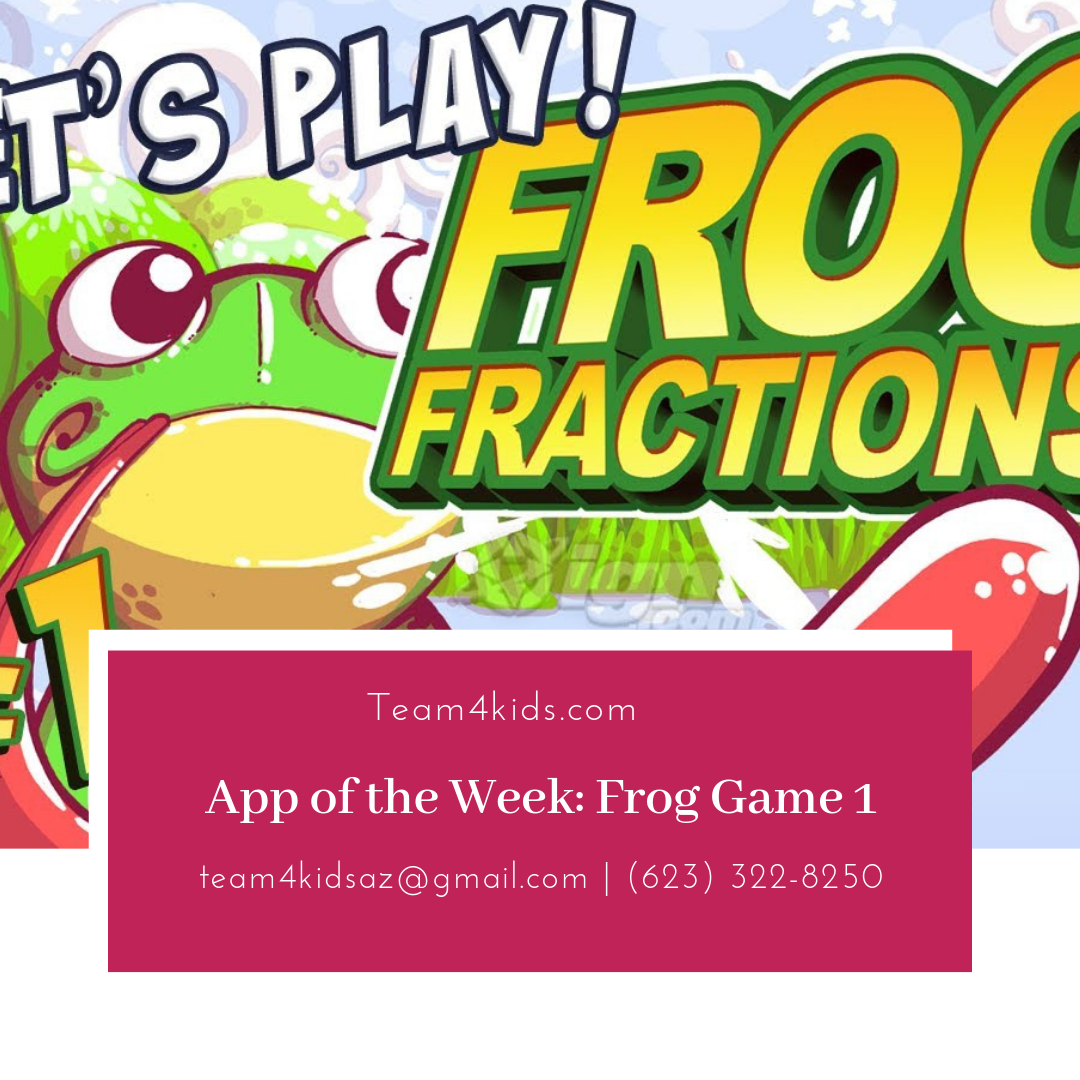 App of the Week: Frog Game 1