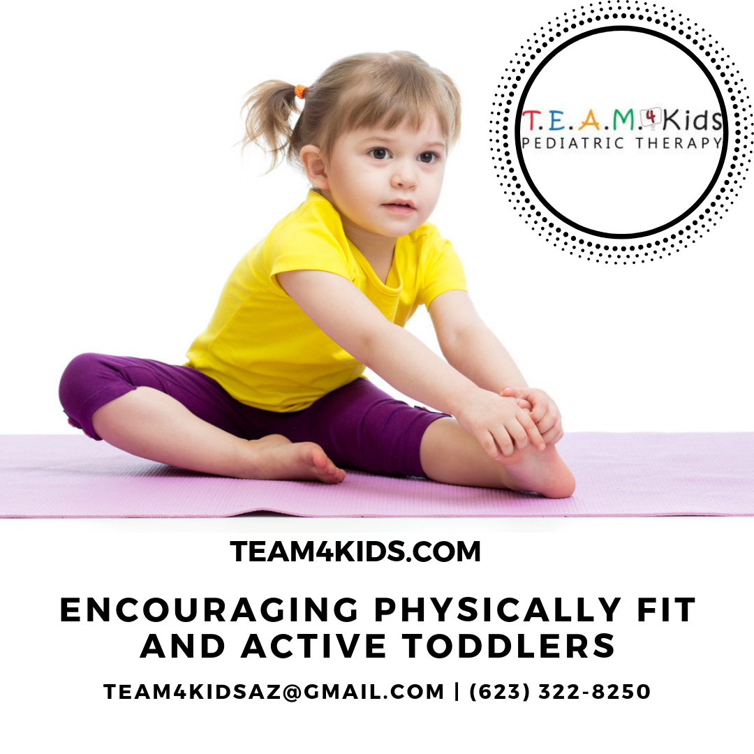 Encouraging Physically Fit and Active Toddlers