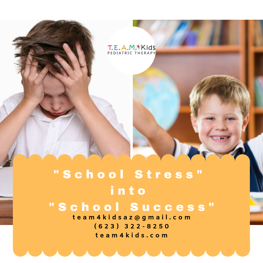 "Helping Your Child Turn ""School Stress"" into ""School Success"""