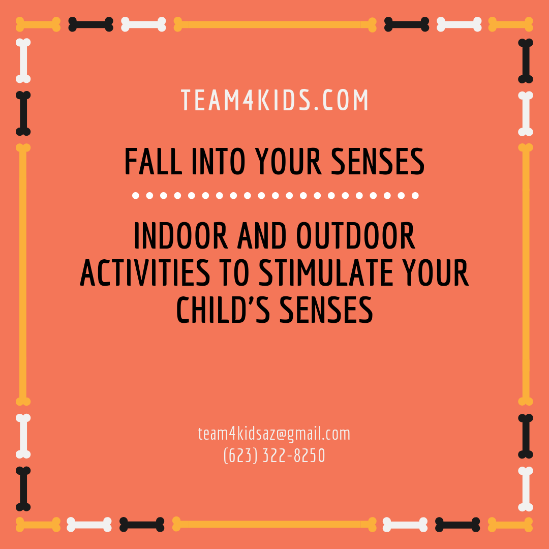 Fall into Your Senses: Indoor and Outdoor Activities to Stimulate Your Child's Senses
