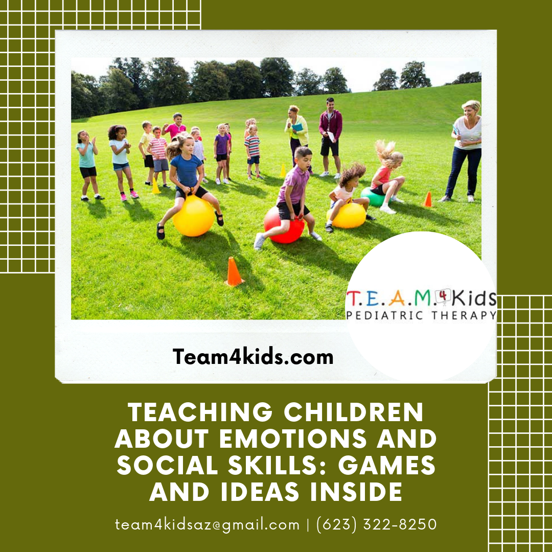 Teaching Children About Emotions and Social Skills: Games and Ideas Inside
