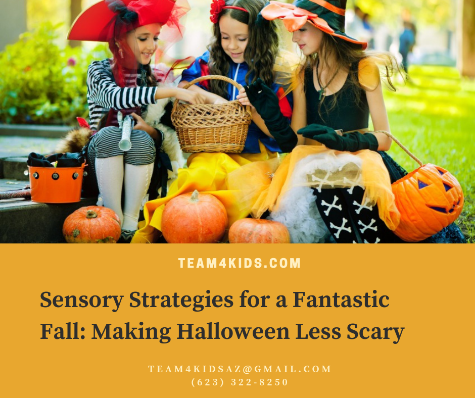 Sensory Strategies for a Fantastic Fall: Making Halloween Less Scary