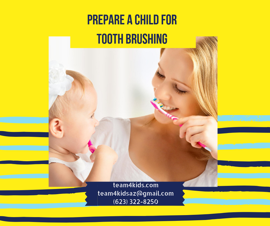Preparing a Child for Tooth brushing | Ideas from an Occupational Therapist