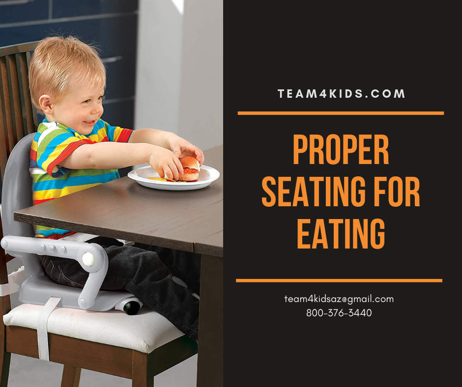 Proper Seating for Eating: Tips from a Pediatric Feeding Therapist