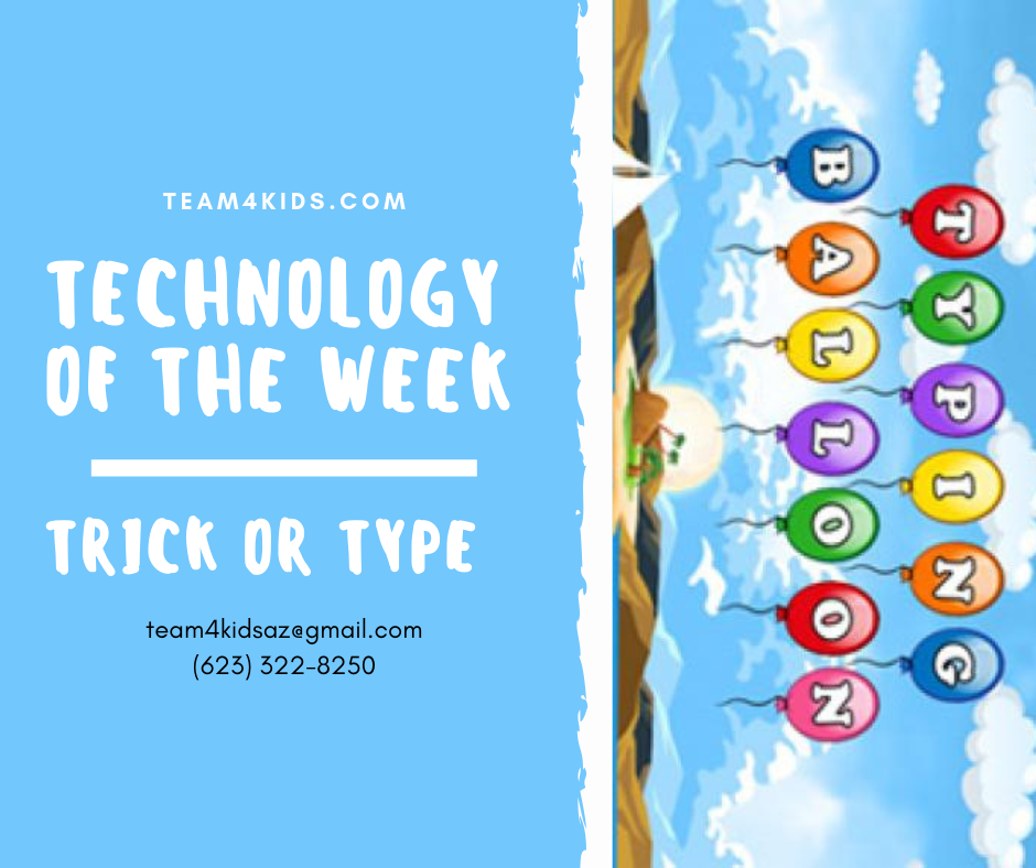 "Technology of the Week: ""Trick or Type"" – Typing Games"