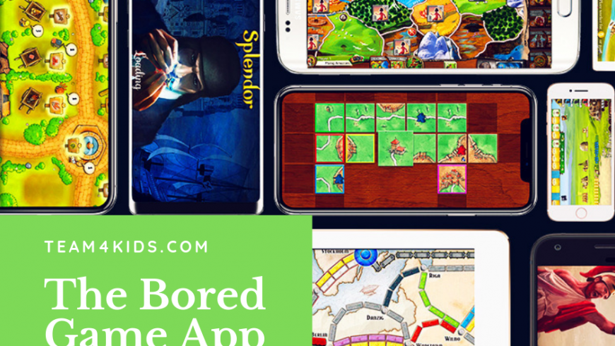 App of the Week: The Bored Game App