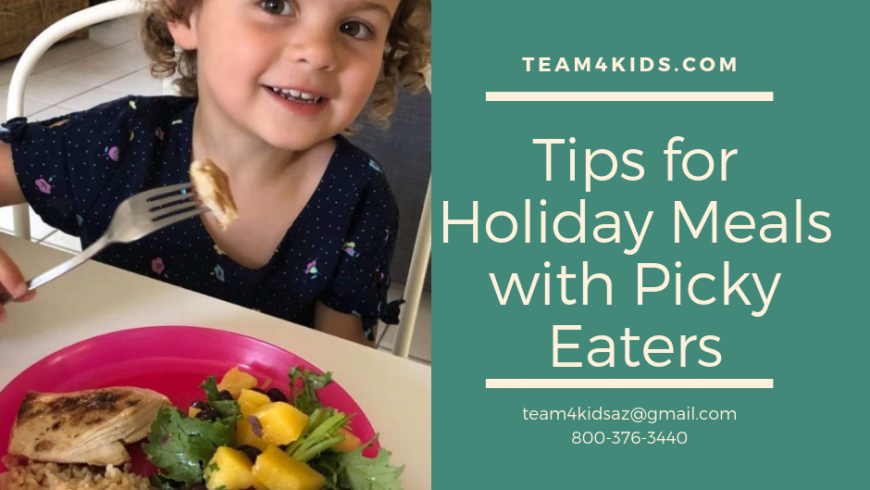 Tips for Holiday Meals with Picky Eaters
