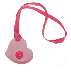 KidCompanions Heart-Shaped Chewable Necklaces