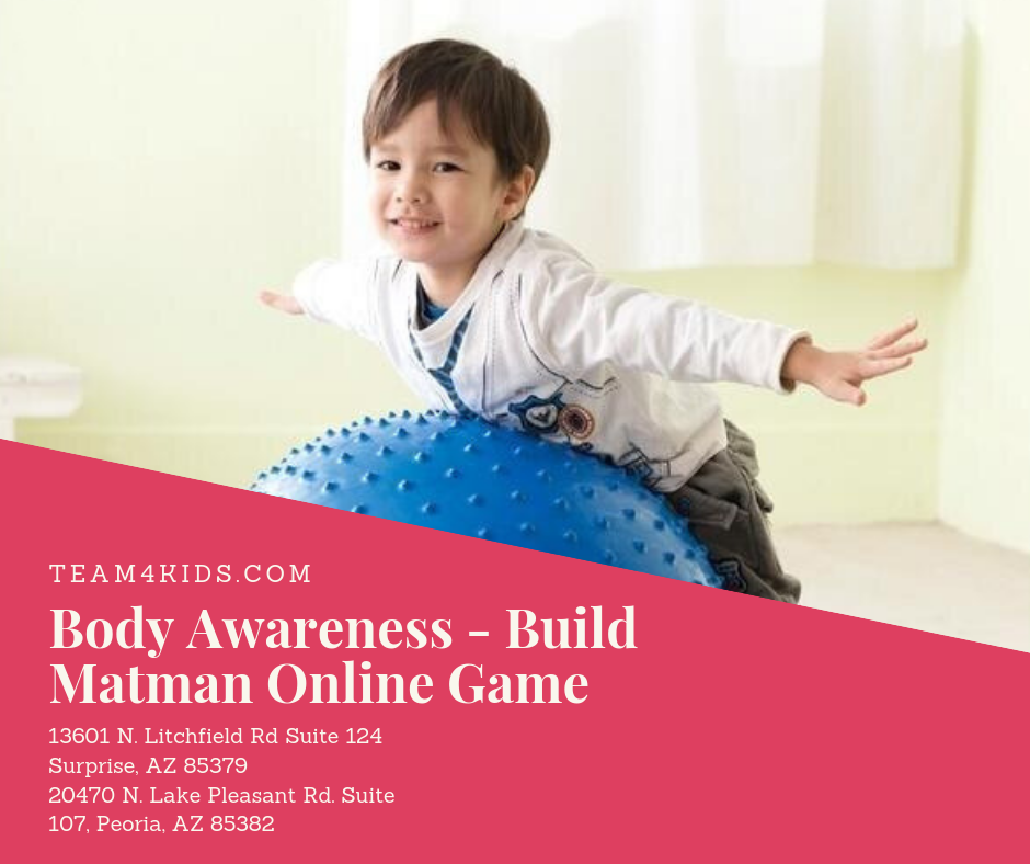Technology of the Week | Body Awareness | Build Matman Online Game