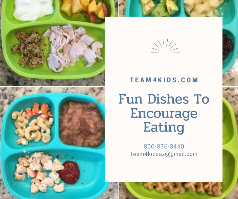 Feeding Therapy Blog Post: Fun Dishes To Encourage Eating