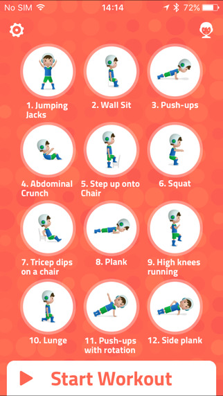 7 Minute Workout For Kid Exercises in Surprise AZ