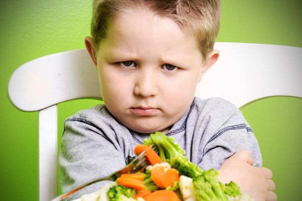 Fussy-child-with-veggies