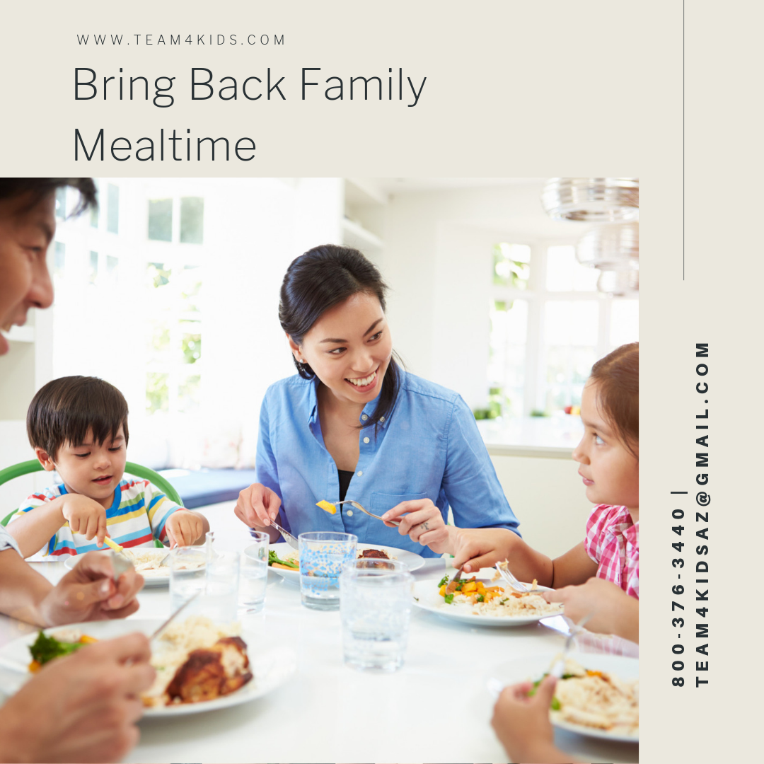 """Bring Back Family Mealtime"""