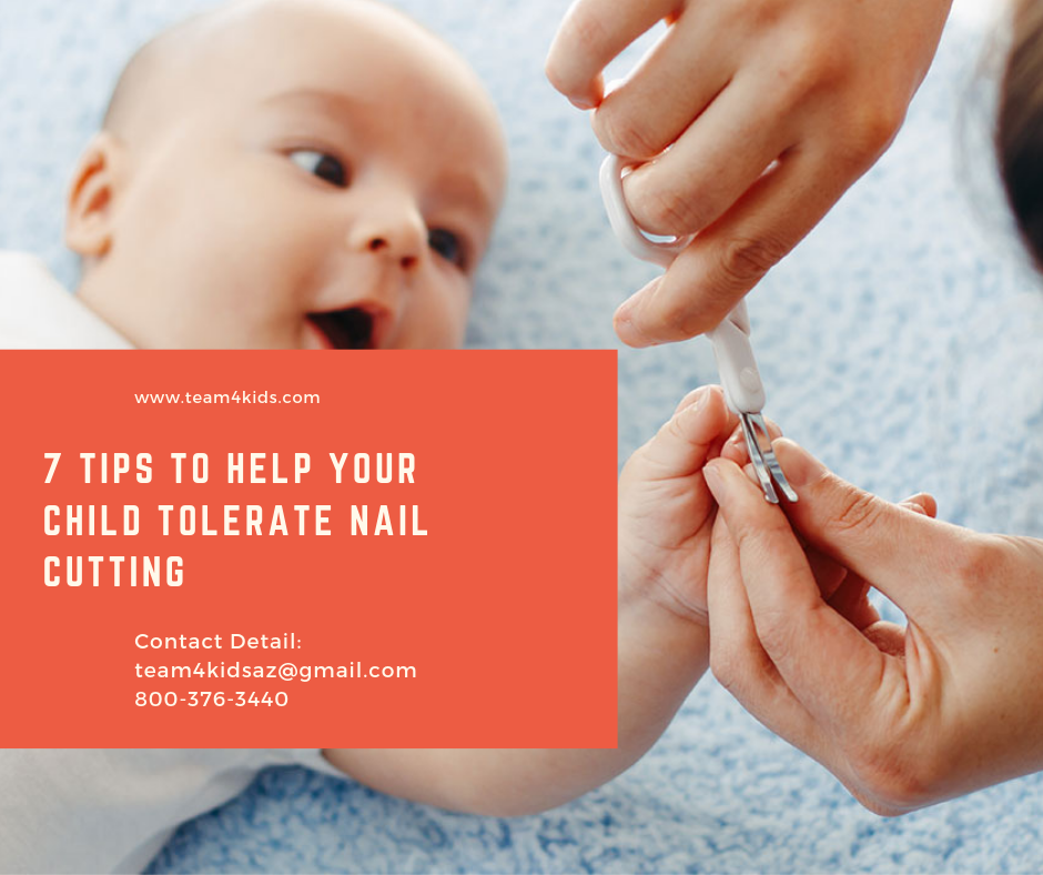 7 Tips to Help Your Child Tolerate Nail Cutting