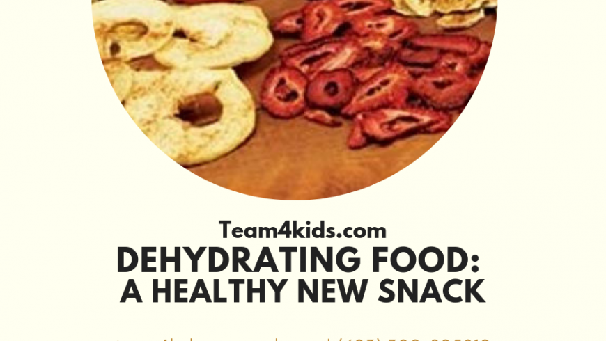 Dehydrating Food: A Healthy New Snack