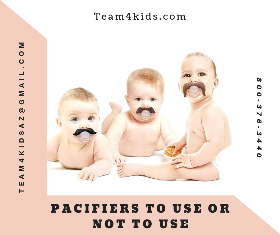 Pacifiers: To Use or Not To Use?