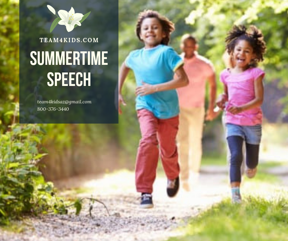 Summertime Speech