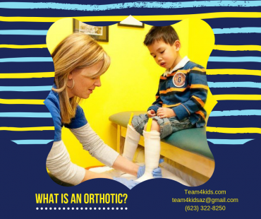 What is an orthotic and how do they help my child?