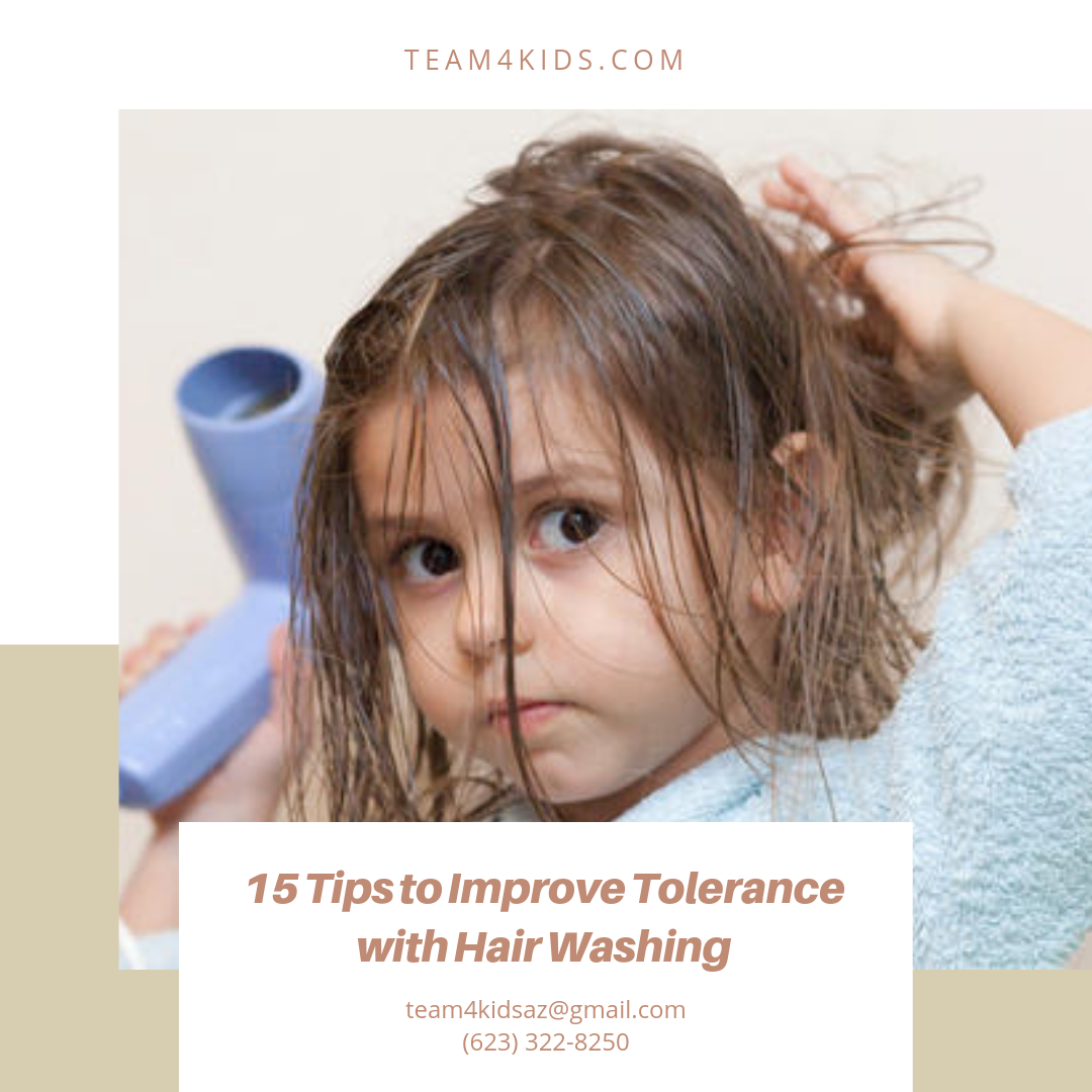 15 Tips to Improve Tolerance with Hair Washing