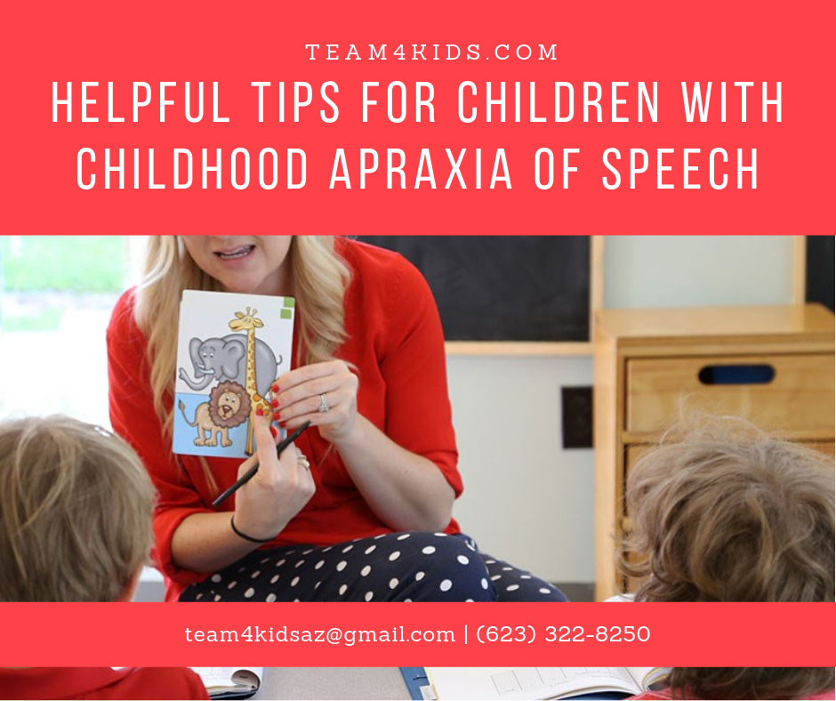 (CAS) | Helpful Tips For Children With Childhood Apraxia of Speech