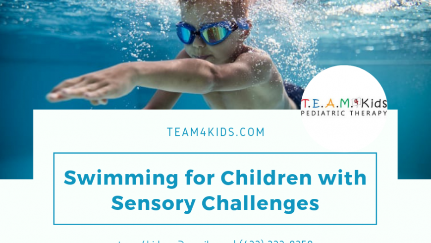 Swimming for Children with Sensory Challenges