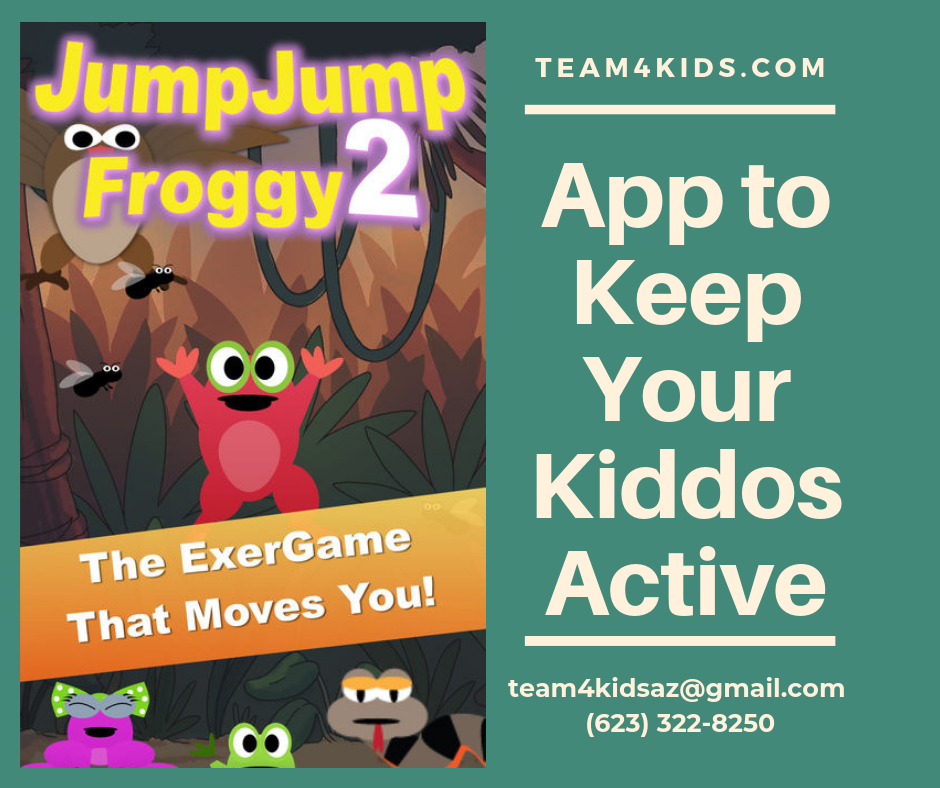 Jump Jump Froggy 2 App to Keep Your Kiddos Active
