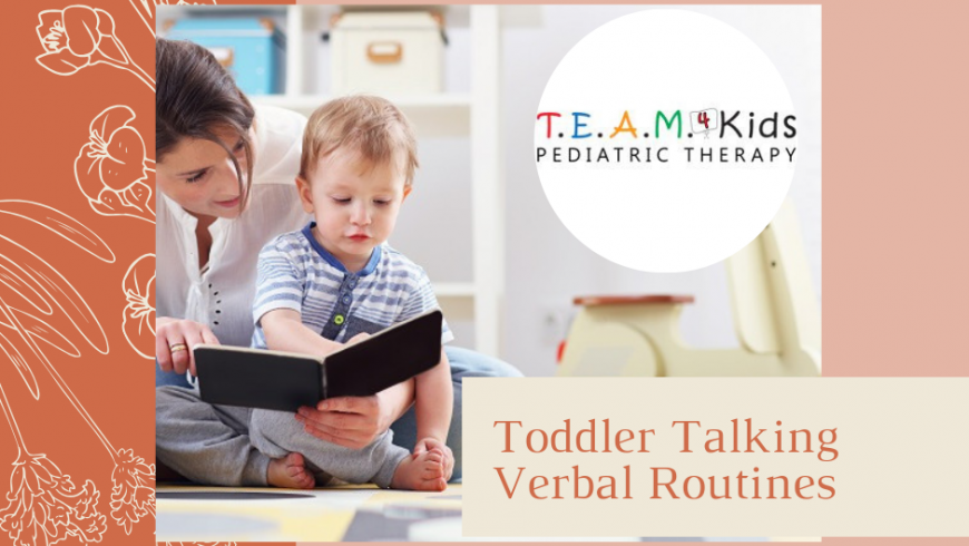 Get Your Toddler Talking – Verbal Routines