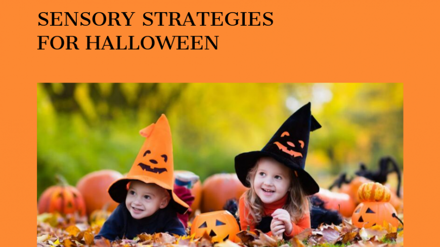Sensory Strategies for Halloween