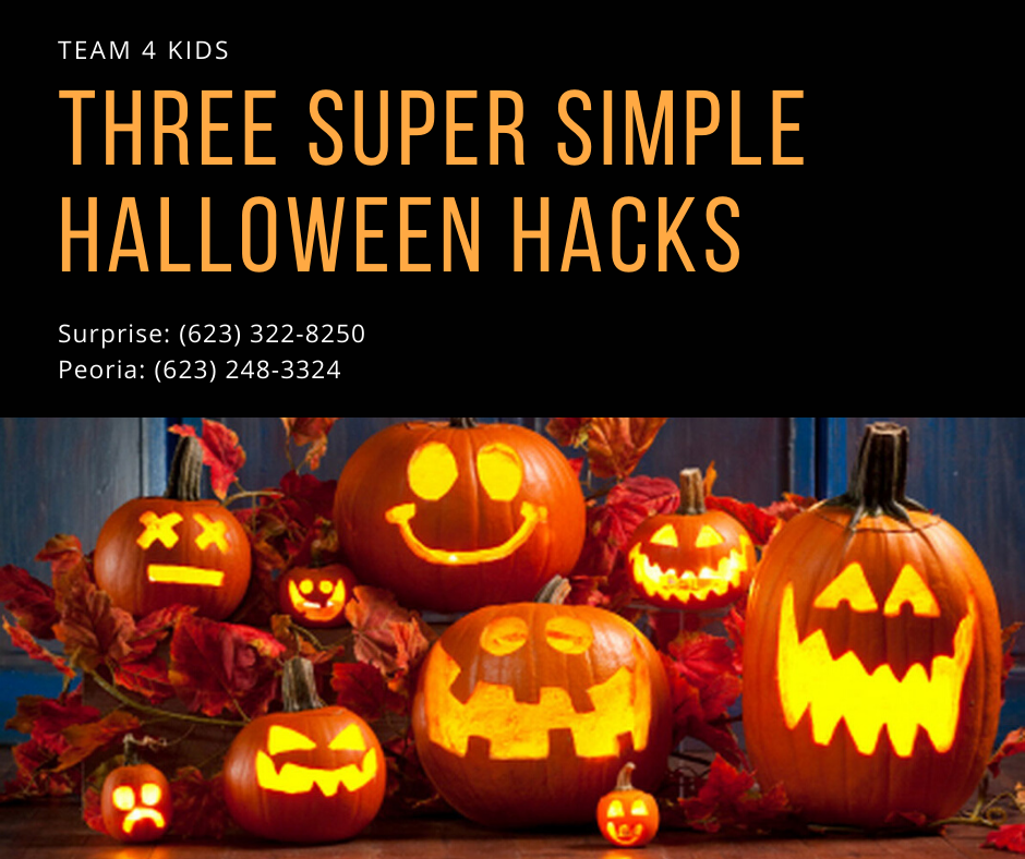 Three Super Simple Halloween Hacks