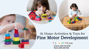 Home Activities and Toys for Fine Motor Development