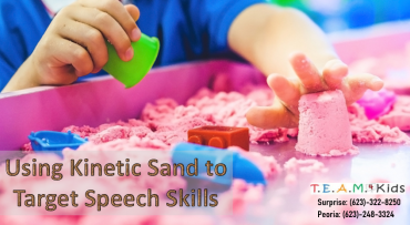 Using Kinetic Sand to Target Speech Skills