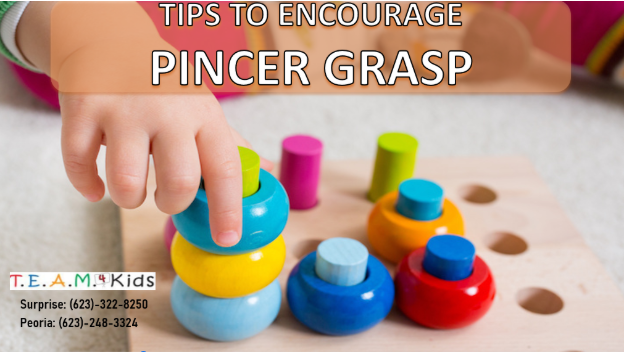 Tips to Encourage Pincer Grasp