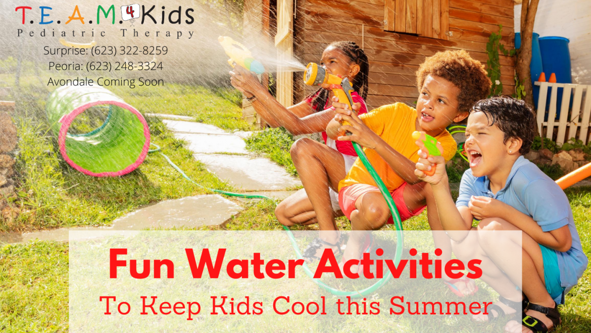 Summer Water Activities to Keep Kids Cool