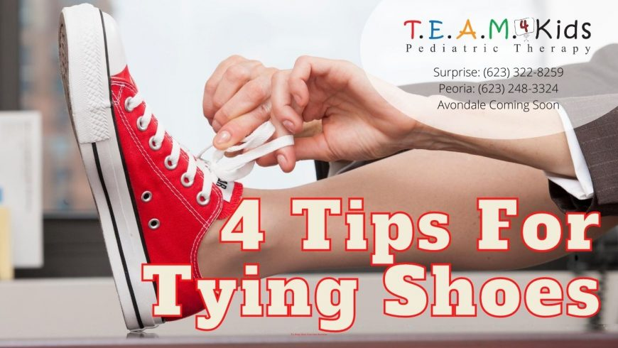 4 Ways to Teach Kids to Tie Shoes