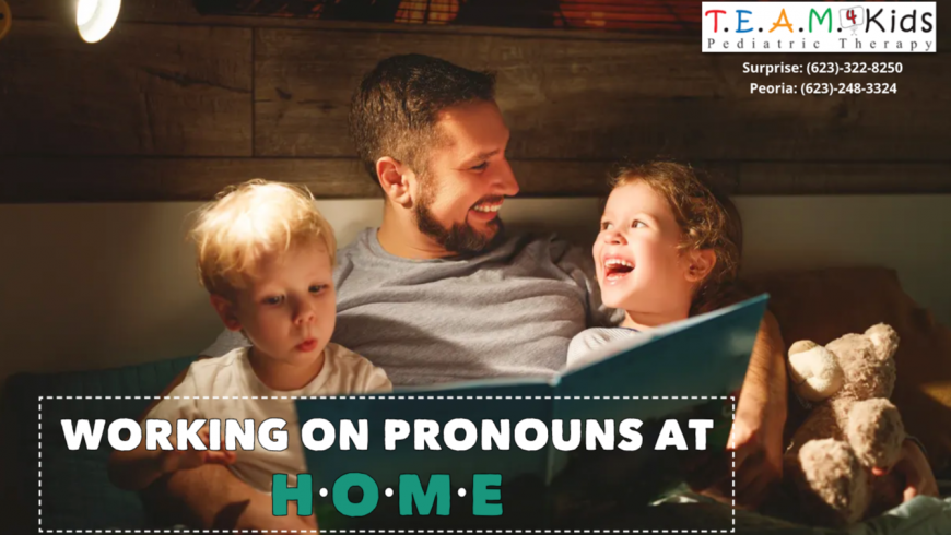 Working on Pronouns at Home