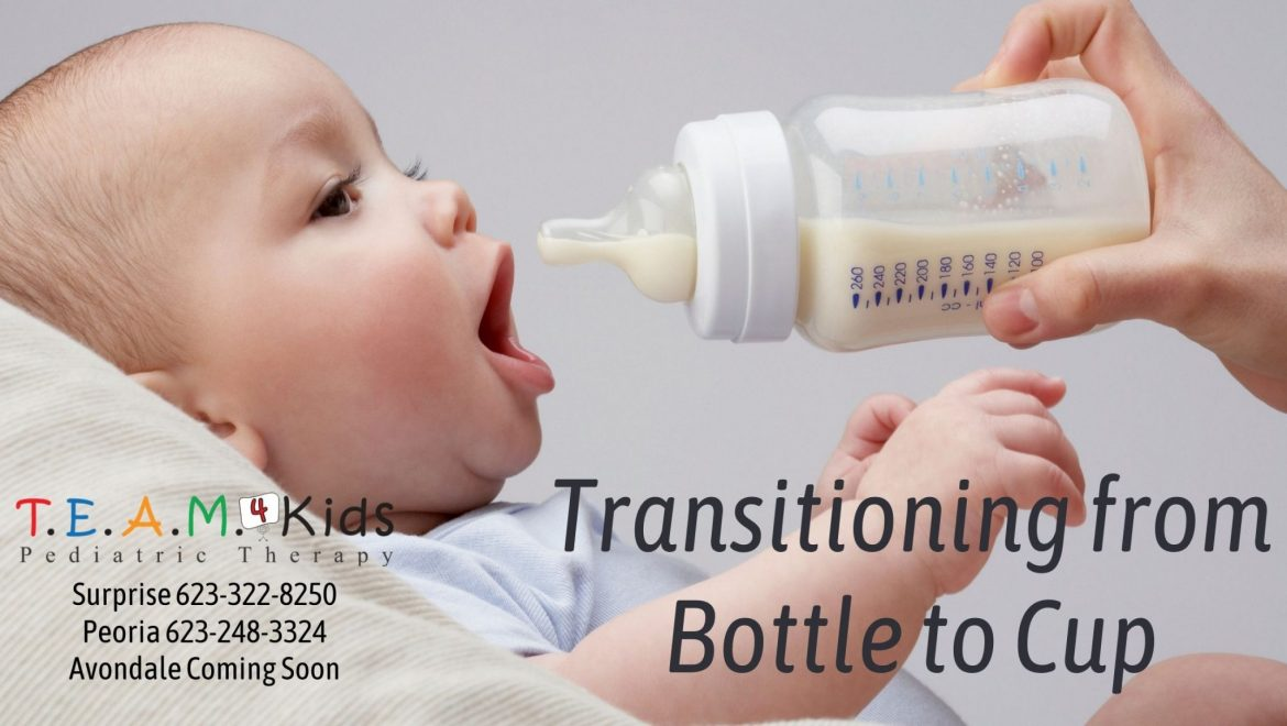 Transitioning from Bottle to Cup