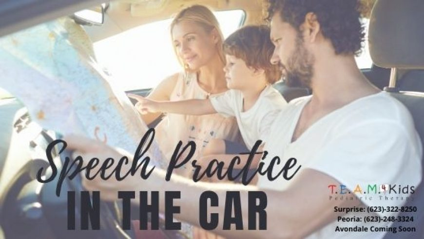 Practicing Speech in the Car