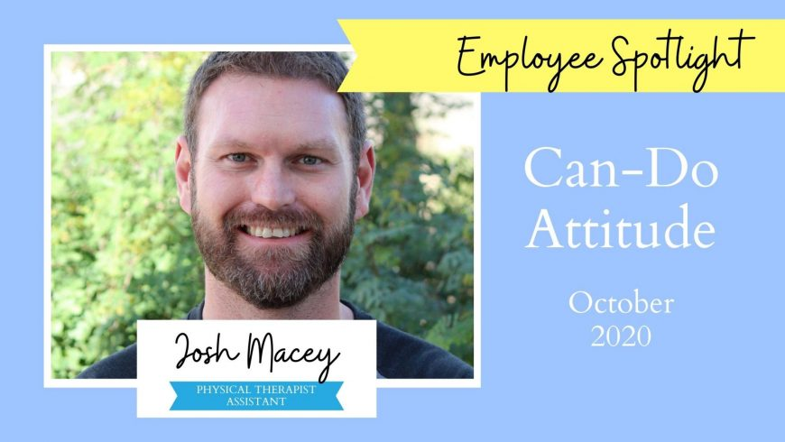 Employee Spotlight – Josh Macey