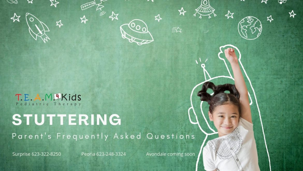 Stuttering: Parent's Frequently Asked Questions