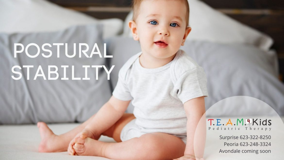 What is Postural Stability? How to Improve Child's Posture While Eating