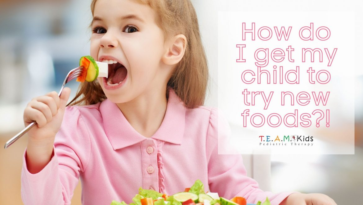 How Do I Get My Child to Try New Foods?!