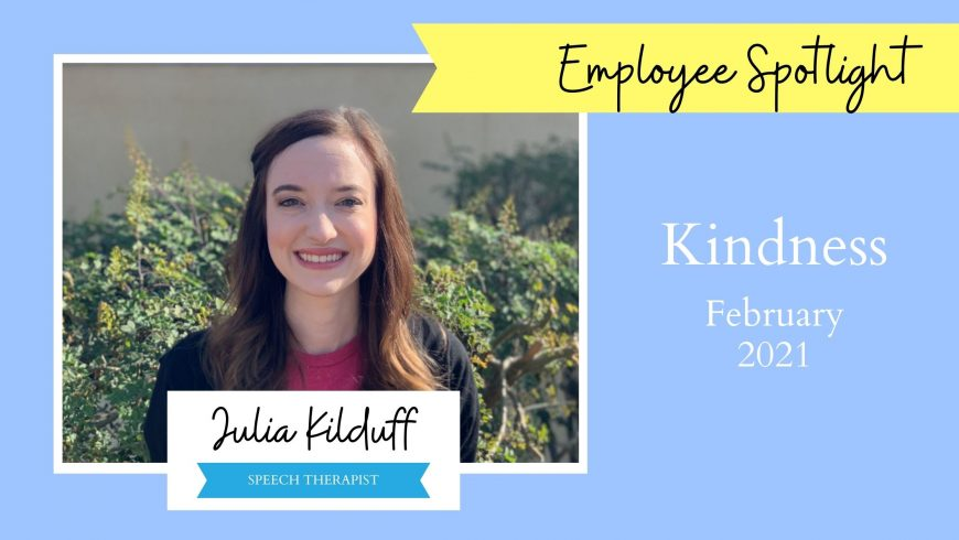 Employee Spotlight – Julia Kilduff