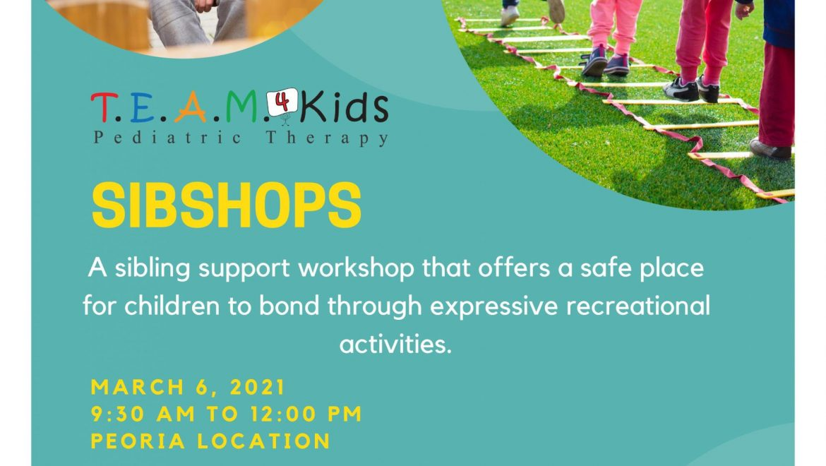 Sibshop Event: Workshop for Siblings of Children with Special Needs