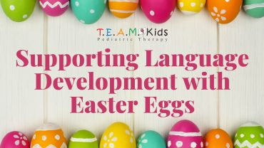 Supporting Language Development with Easter Eggs