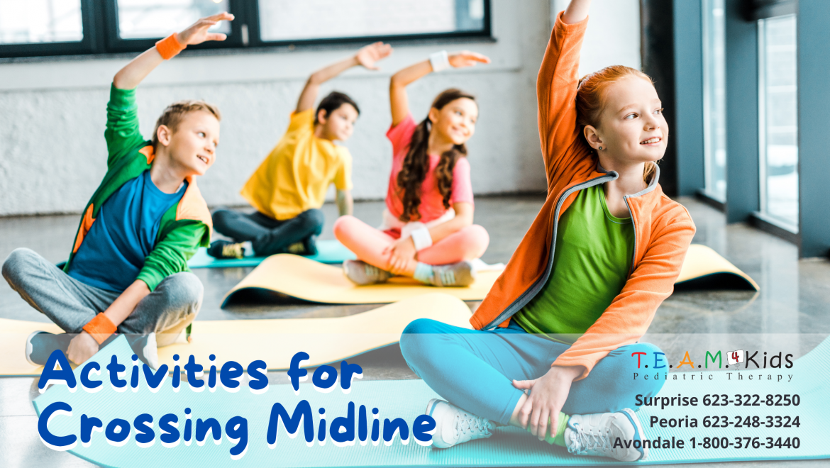 Activities for Crossing Midline in Occupational Therapy